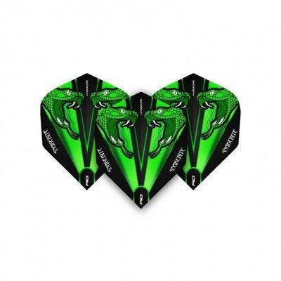 RedDragon Peter Wright Snakebite Green Transparent