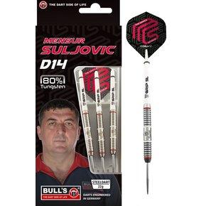 Bull's Mensur Suljovic D14 80%