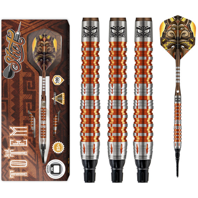 Shot Totem 3 85% Orange Softdarts