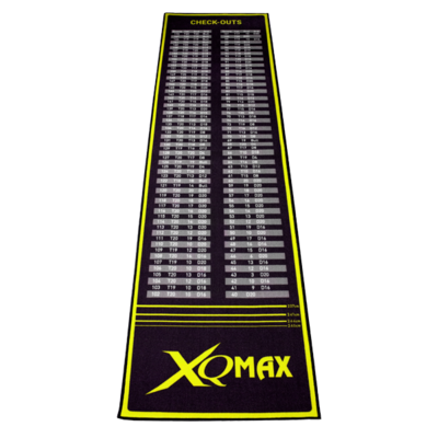 XQMax Check Out Dartmat Green/Black