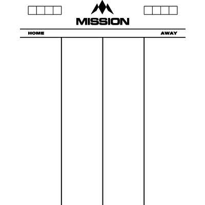 Mission Whiteboard 501 - 50x40 cm