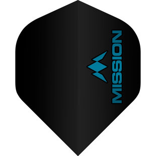 Mission Logo Std No2 Black & Blue