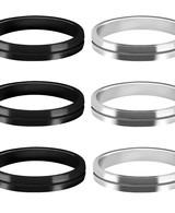 Mission S-Lock Aluminium Rings