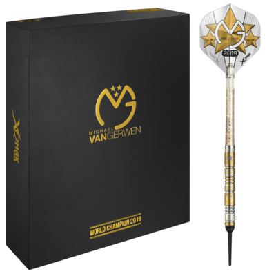 Michael van Gerwen WC2019 Limited Edition Softdarts