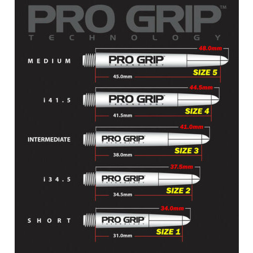 Target Target Pro Grip Shaft Black