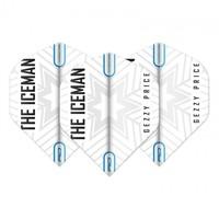 RedDragon Gerwyn Price - White & Grey Snowflake