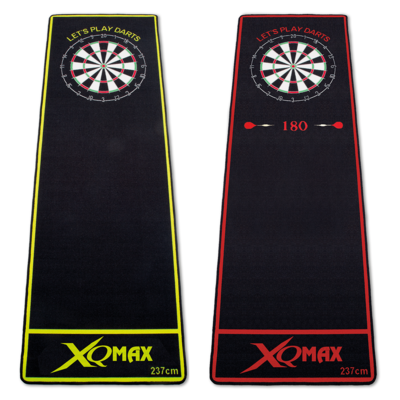 XQMax Dartmat Green/Red