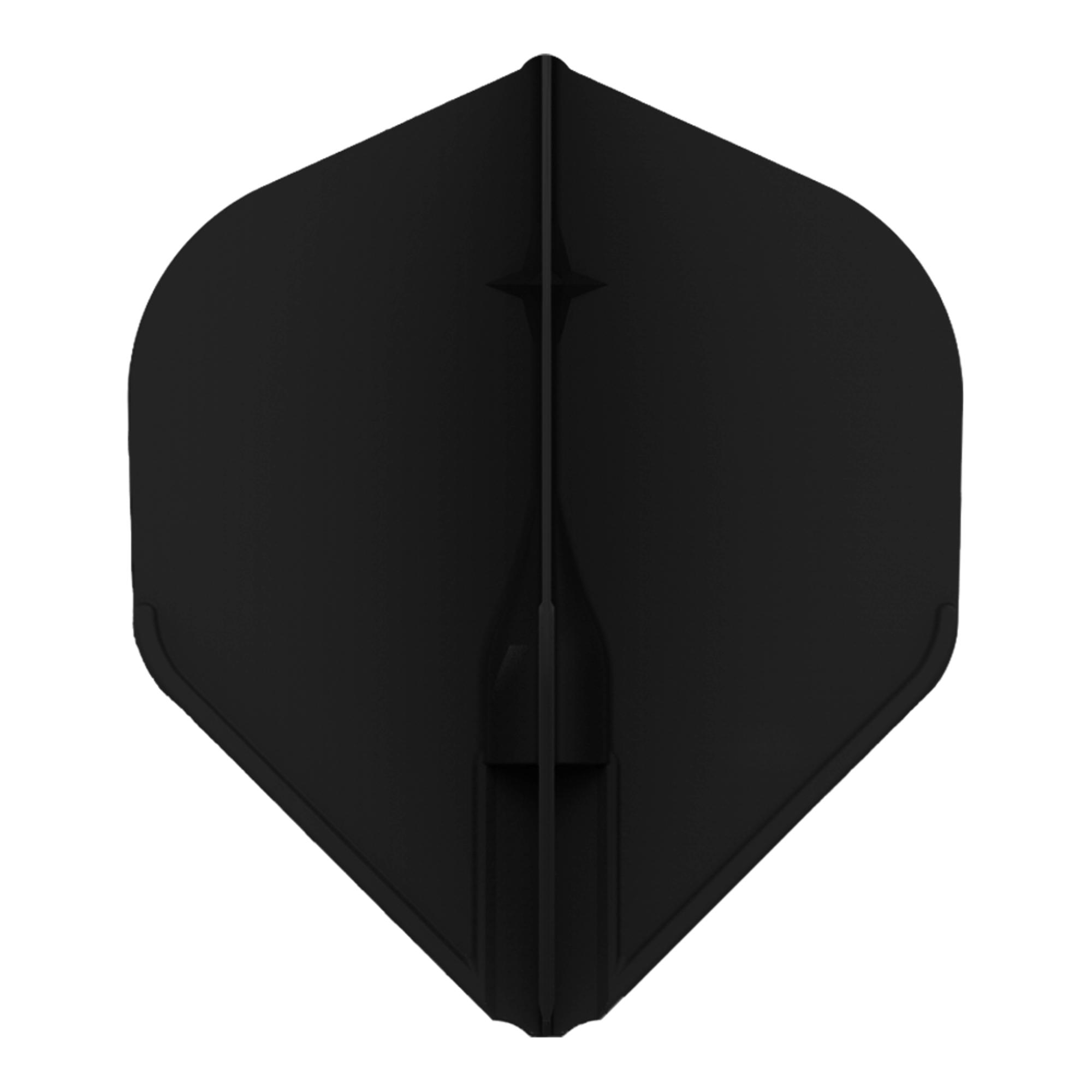 3 Stück L-Style Flights Paul Lim L3 Shape schwarz