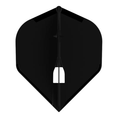 L-Style Champagne Flight Standard Solid Black
