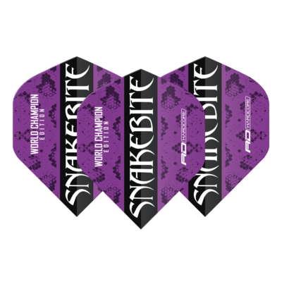 Snakebite World Champion 2020 Purple Flights
