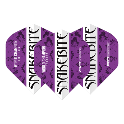 Snakebite World Champion 2020 Purple & White Flights
