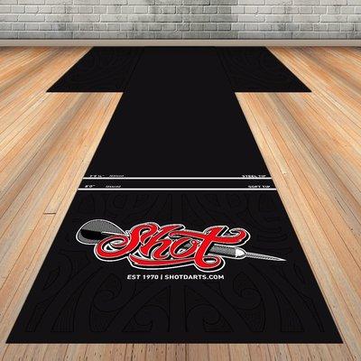 Shot T-Mat Floor Protection 300x60 cm Dartmatte