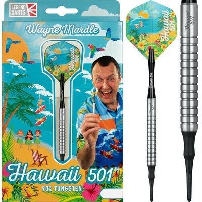 Wayne Mardle Hawaii 501 90% Silver Softdarts