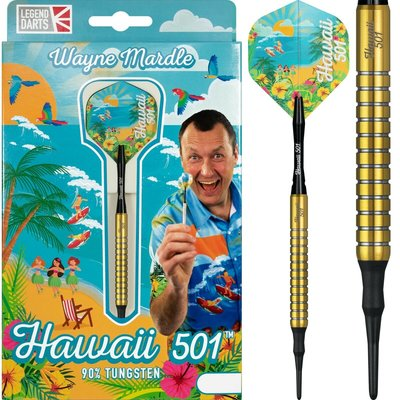 Wayne Mardle Hawaii 501 90% Gold Softdarts