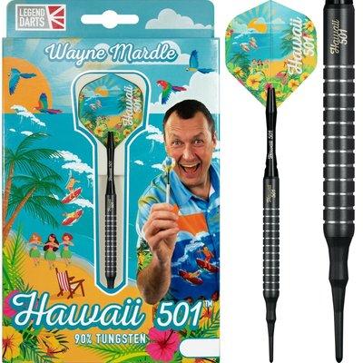Wayne Mardle Hawaii 501 90% Black Softdarts