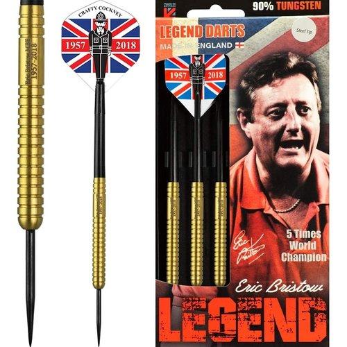 Legend Darts Eric Bristow Crafty Cockney 90% Gold