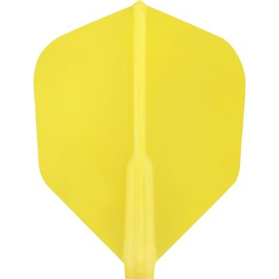 Cosmo Darts - Fit Flight Yellow Shape