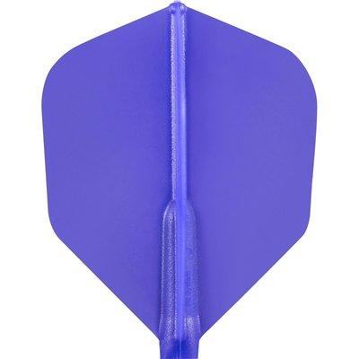 Cosmo Darts - Fit Flight Dark Blue Shape