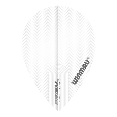 Winmau Prism Delta Pear White