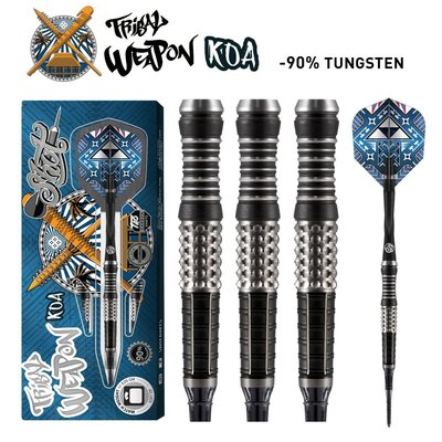 Shot Tribal Weapon Koa 90% Lippoint Softdarts