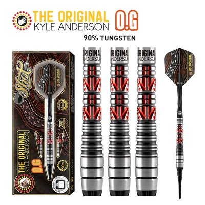 Shot Kyle Anderson The Original 90% Softdarts