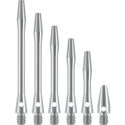 Dartshopper Aluminium Metal Silver Shafts