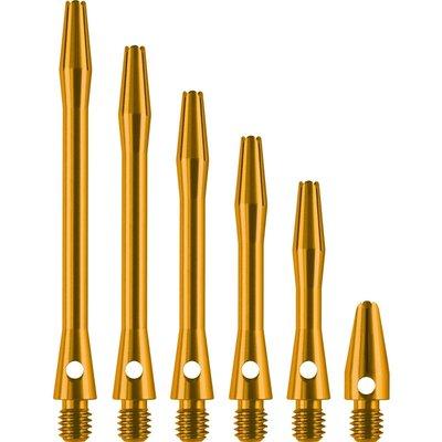 Dartshopper Aluminium Metal Gold Shafts