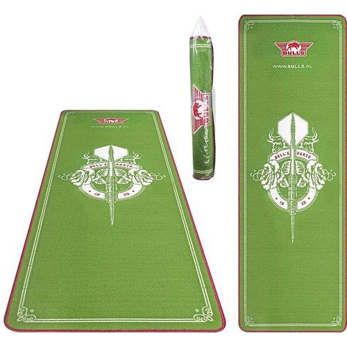 Bull's Bulls Carpet Mat Green 241x80 cm Dartmatte