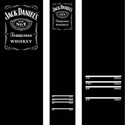 Jack Daniels Carpet  Dartmatte