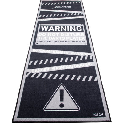 XQ Max Carpet  Warning Dartmatte