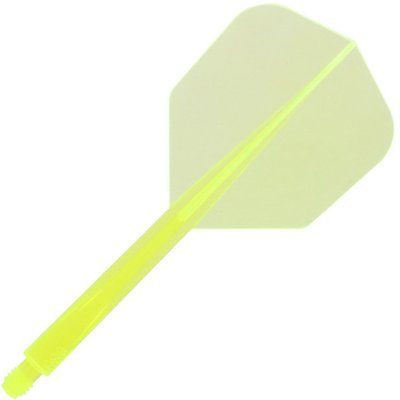 Condor Neon Axe Flight System - Shape Yellow