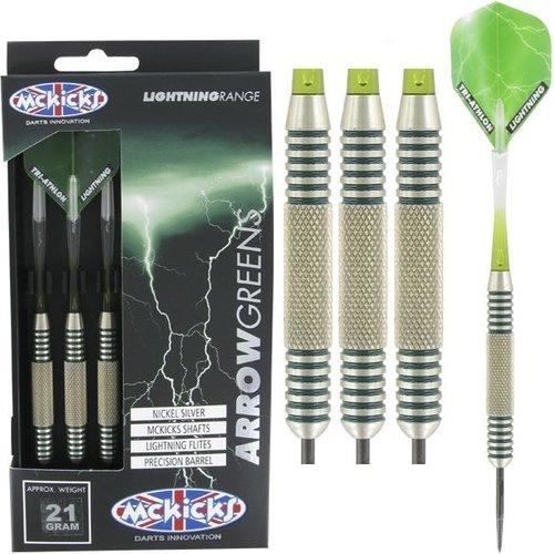 McKicks McKicks Arrow Greens Silver 21 Gramm