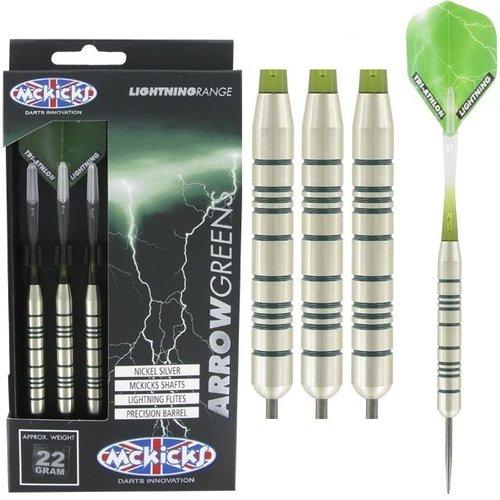 McKicks McKicks Arrow Greens Silver 22 Gramm