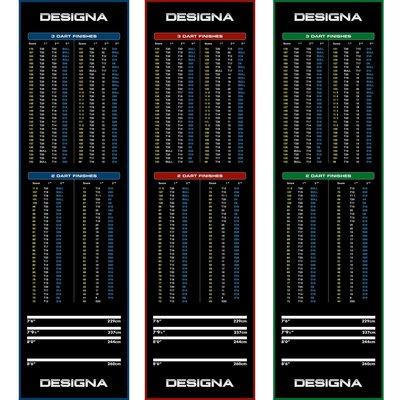 Designa Carpet  - Non Slip Back - 290cm x 80cm Dartmatte
