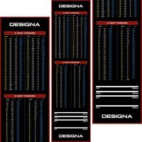 Designa Designa Carpet  - Non Slip Back - 290cm x 80cm Dartmatte
