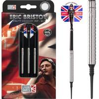 Legend Darts Eric Bristow Crafty Cockney 90% Silver Ringed Softdarts