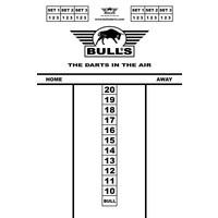 Bull's Budget Whiteboard 45x30 cm Scoreboard