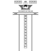 Bull's Budget Whiteboard 60x30 cm Scoreboard