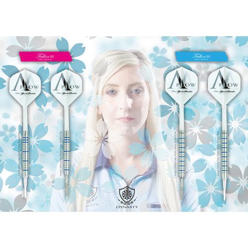 Dynasty Dynasty A-Flow Fallon Sherrock Blue Label 80% Softdarts