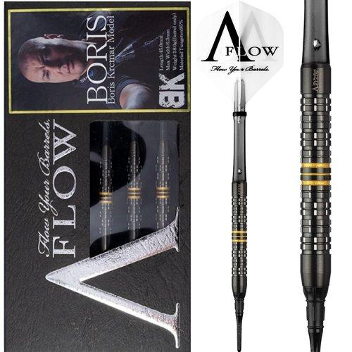 Dynasty Dynasty A-FLOW Black Line Boris Krcmar Yellow 95% Softdarts