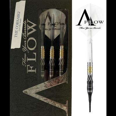 Dynasty A-FLOW Black Line Cyril Blot - The Corsair 2 90% Softdarts