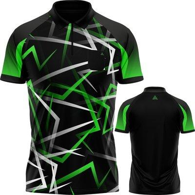 Arraz Flare Dartshirt Black & Green