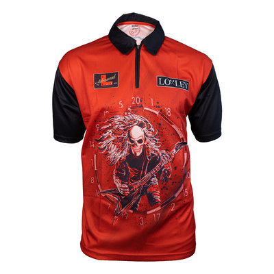 Loxley Ryan Searle Matchshirt Red