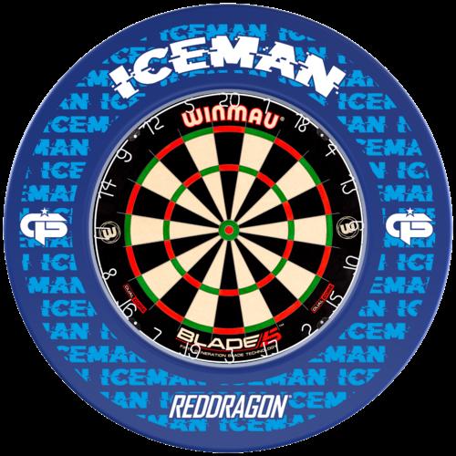 Red Dragon Gerwyn Price Iceman Dartboard Surround