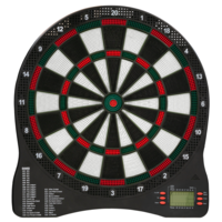 Dartshopper KOTO Elektronische Dartscheibe + 2 Sets Darts