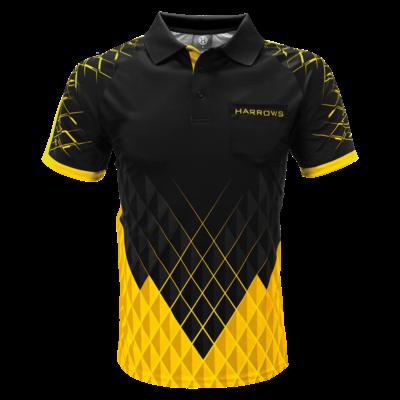 Harrows Paragon Dart Shirt Yellow