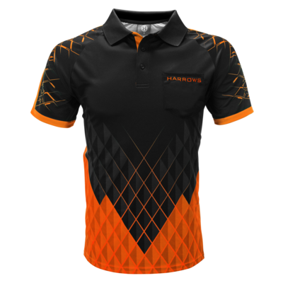 Harrows Paragon Dart Shirt Orange