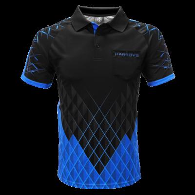 Harrows Paragon Dart Shirt Blue