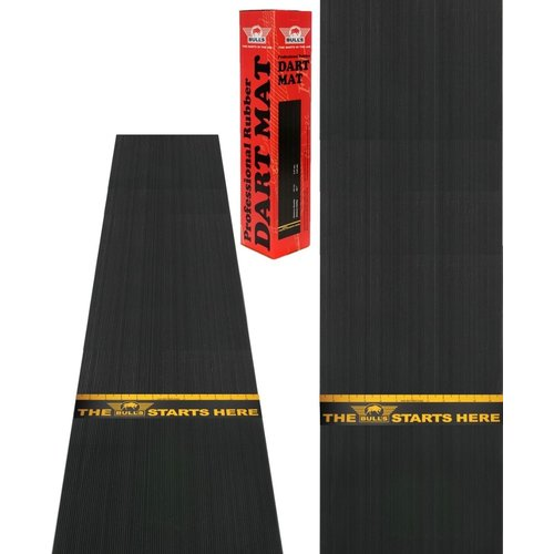 Bull's Dartmatte aus Gummi + Wurflinie 300x60 cm