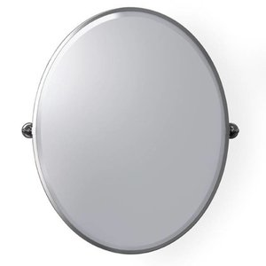 Pivoting Mirror Oval